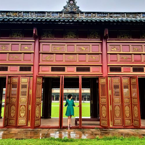 Hall Of The Mandarins - Hue