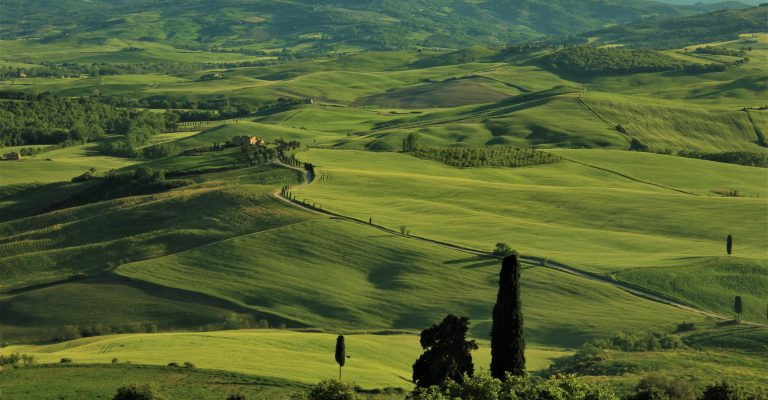 val d'orcia - italya