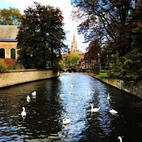 minnewater bruges